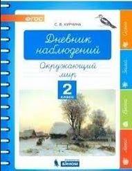 Курчина. Дневник наблюдений. 2 класс
